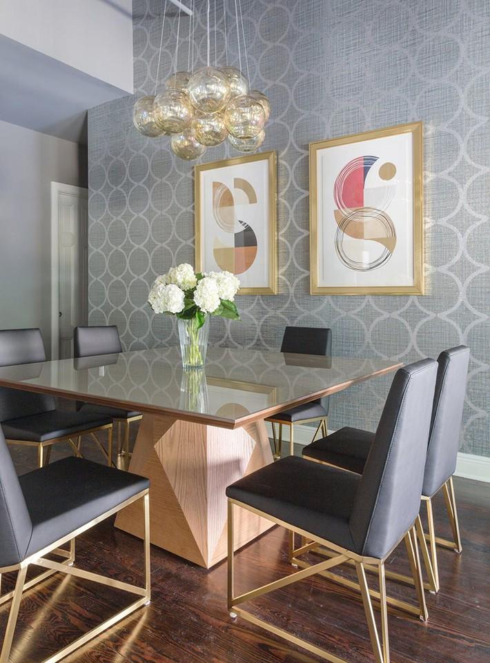 Chẳng thể ngờ những bộ khung kim loại lại mang đến vẻ đẹp sang trọng đến vậy cho nội thất gia đình - Ảnh 7.