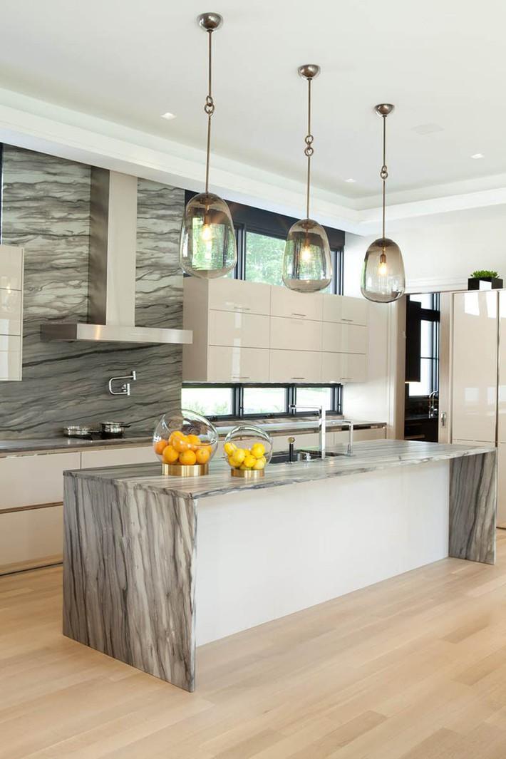 Có lẽ chính bạn cũng chẳng thể ngờ đến những căn bếp màu xám lại có thể đẹp đến vậy - Ảnh 10.