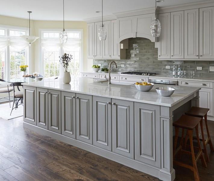 Có lẽ chính bạn cũng chẳng thể ngờ đến những căn bếp màu xám lại có thể đẹp đến vậy - Ảnh 15.