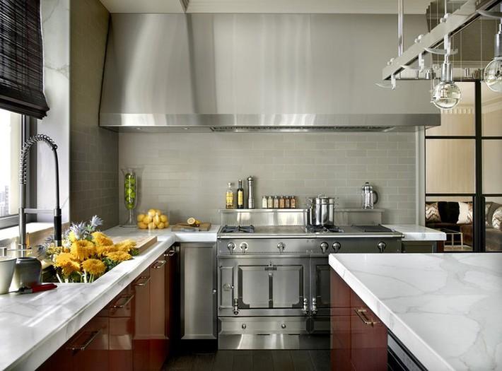 Có lẽ chính bạn cũng chẳng thể ngờ đến những căn bếp màu xám lại có thể đẹp đến vậy - Ảnh 5.