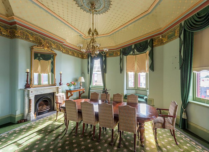 Xu hướng thiết kế phòng ăn màu xanh lá cây phong cách tươi mới lại dễ chịu, hợp thời - Ảnh 12.