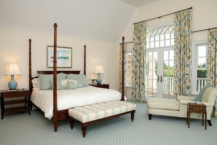 Đã mắt nhìn ngắm những căn phòng ngủ đẹp mơ màng với thiết kế cửa kiểu Pháp - Ảnh 13.