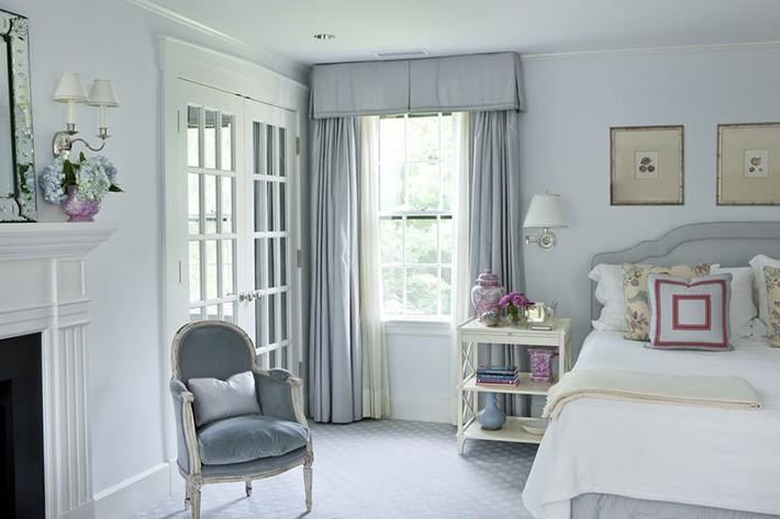 Đã mắt nhìn ngắm những căn phòng ngủ đẹp mơ màng với thiết kế cửa kiểu Pháp - Ảnh 16.