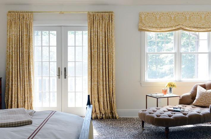 Đã mắt nhìn ngắm những căn phòng ngủ đẹp mơ màng với thiết kế cửa kiểu Pháp - Ảnh 6.