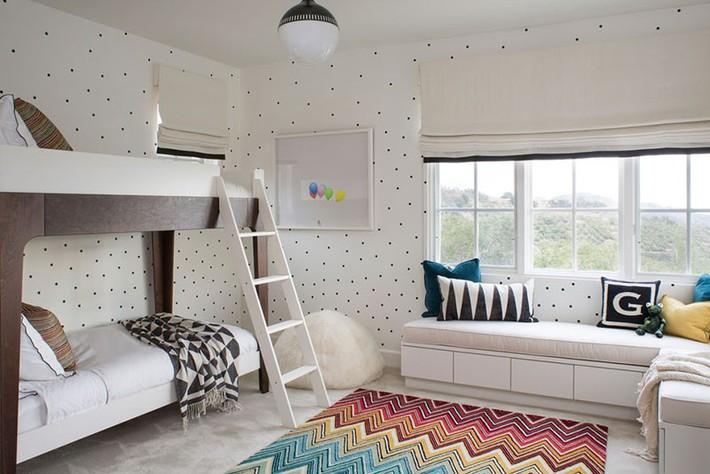 Những căn phòng ngủ cho bé sinh động đầy sức sống để cha mẹ thoả sức lựa chọn - Ảnh 3.