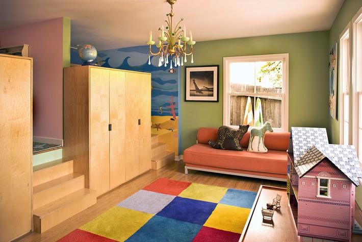 Những căn phòng ngủ cho bé sinh động đầy sức sống để cha mẹ thoả sức lựa chọn - Ảnh 4.