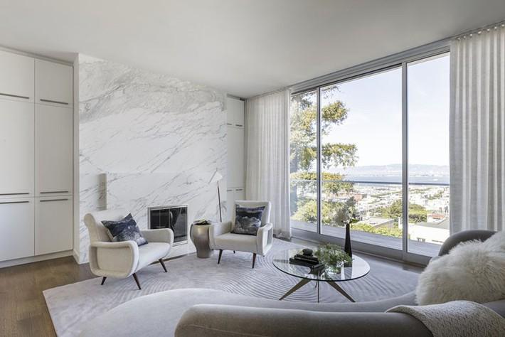 Tường đá cẩm thạch – kiểu tường nhà vừa sạch lại vừa sang - Ảnh 15.