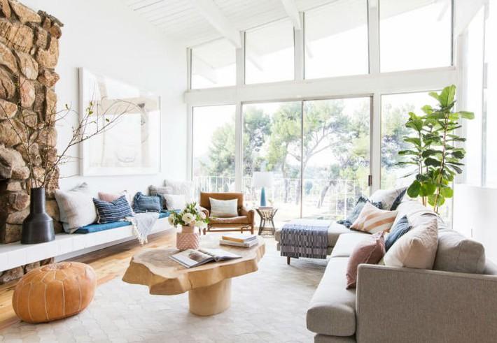 Gợi ý thiết kế phòng khách phù hợp cho những cô nàng có tính cách hướng ngoại, sáng sủa - Ảnh 12.
