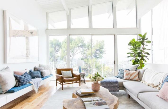 Gợi ý thiết kế phòng khách phù hợp cho những cô nàng có tính cách hướng ngoại, sáng sủa - Ảnh 2.