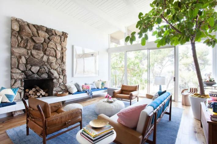 Gợi ý thiết kế phòng khách phù hợp cho những cô nàng có tính cách hướng ngoại, sáng sủa - Ảnh 3.