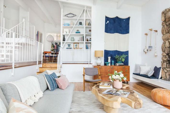 Gợi ý thiết kế phòng khách phù hợp cho những cô nàng có tính cách hướng ngoại, sáng sủa - Ảnh 7.