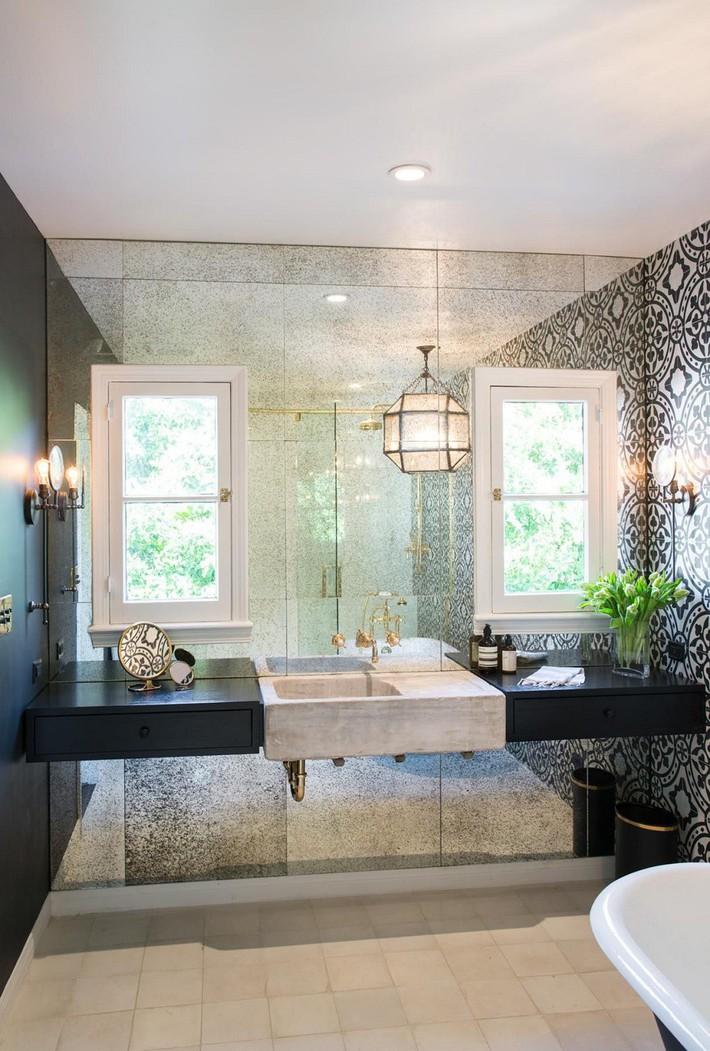 Cận cảnh 3 thiết kế phòng tắm được hồi sinh theo phong cách Tây Ban Nha thập niên 1930 nhờ các vật liệu công nghiệp - Ảnh 12.