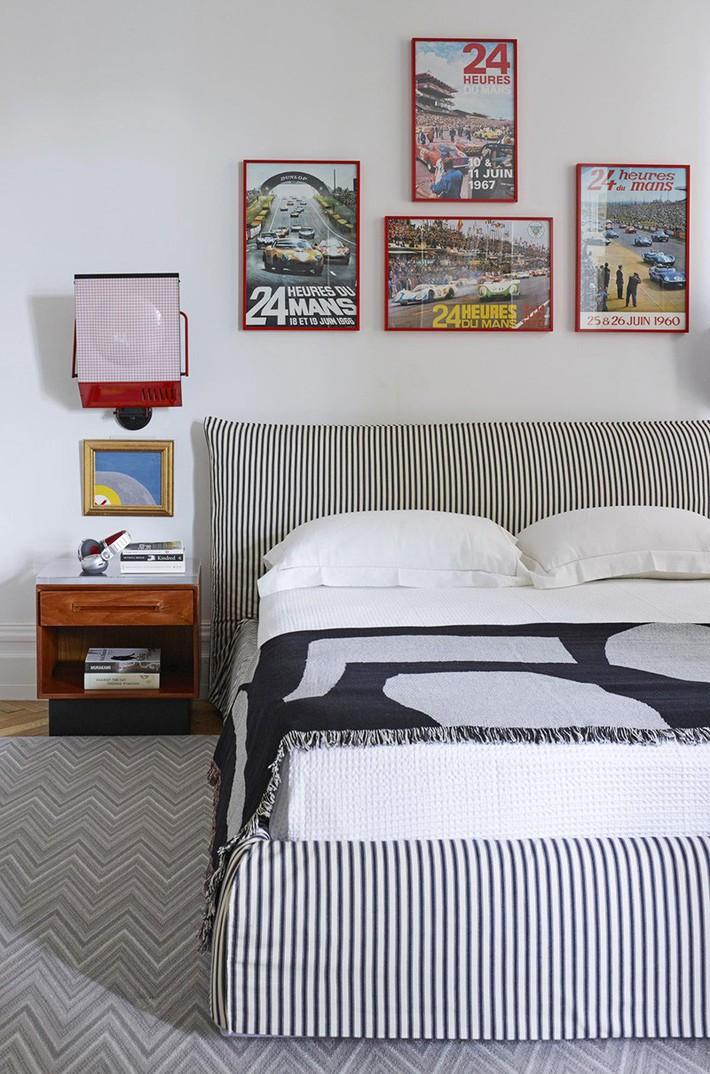 Mách bạn vài cách vừa rẻ vừa dễ để trang trí đầu giường thu hút hơn trong tức thì - Ảnh 5.
