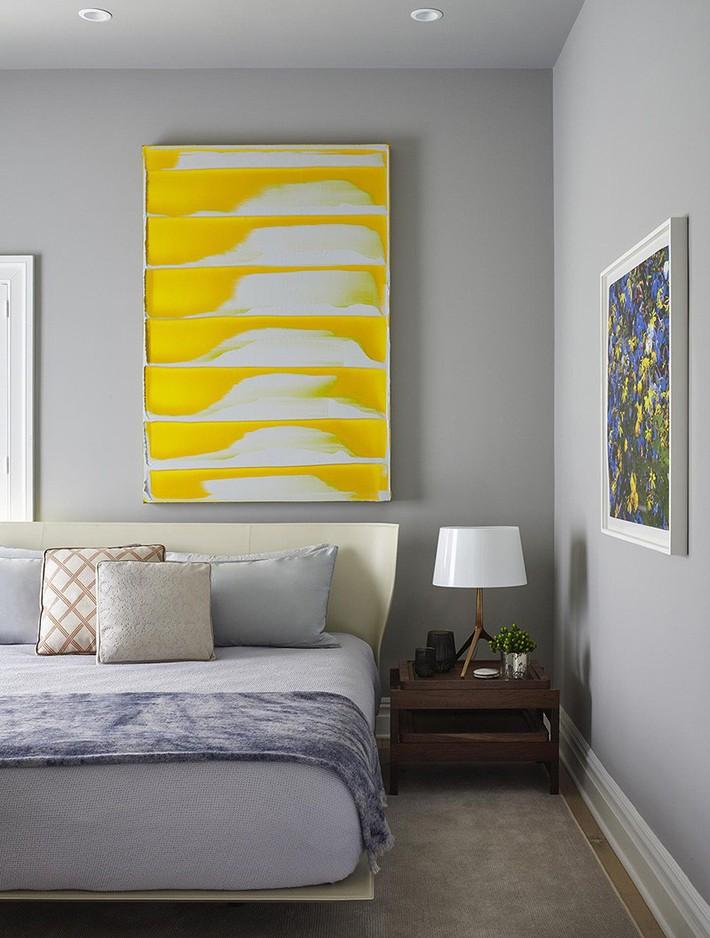 Mách bạn vài cách vừa rẻ vừa dễ để trang trí đầu giường thu hút hơn trong tức thì - Ảnh 6.