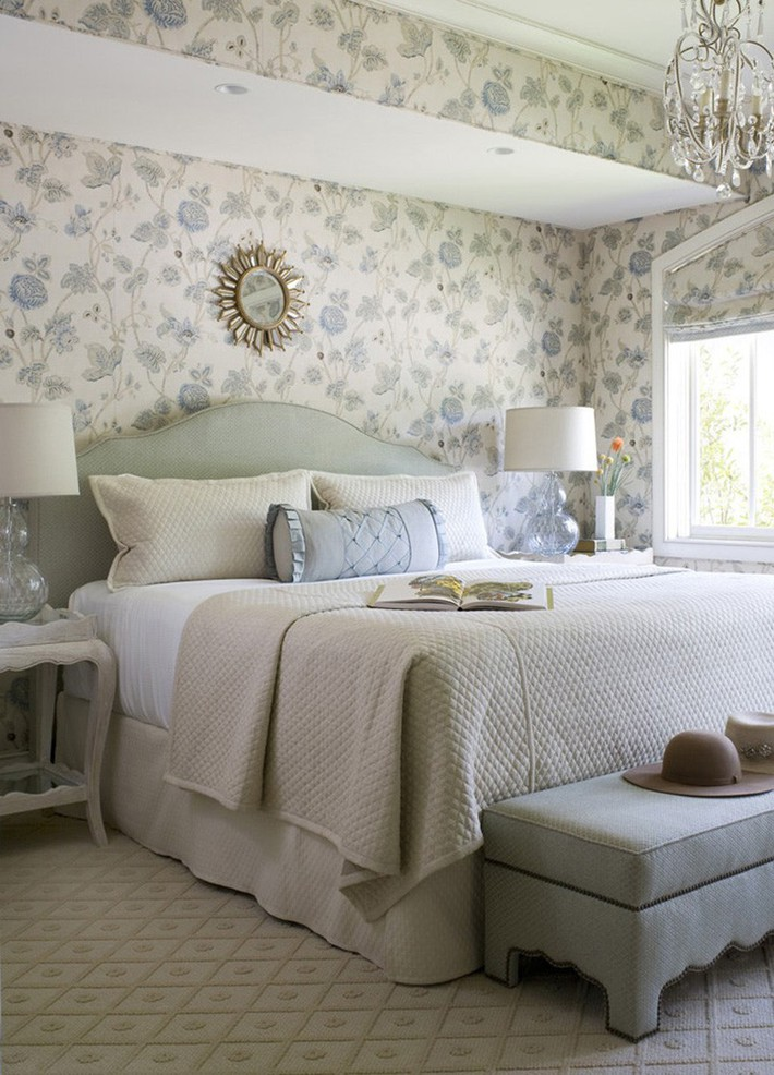 Mách bạn vài cách vừa rẻ vừa dễ để trang trí đầu giường thu hút hơn trong tức thì - Ảnh 7.