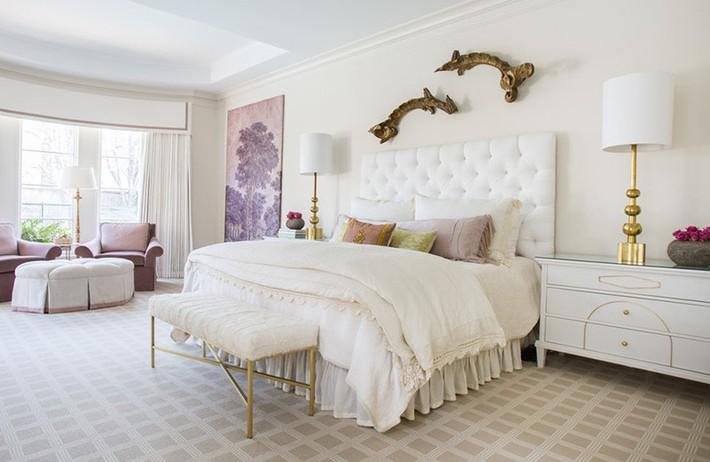 Mách bạn vài cách vừa rẻ vừa dễ để trang trí đầu giường thu hút hơn trong tức thì - Ảnh 8.