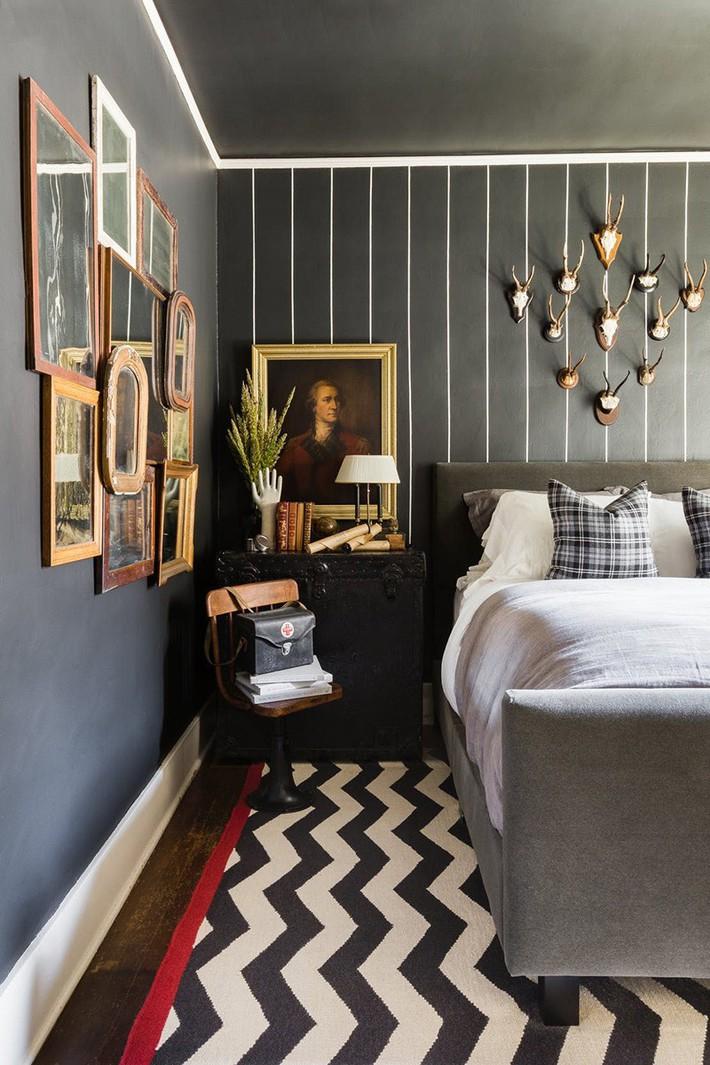 Mách bạn vài cách vừa rẻ vừa dễ để trang trí đầu giường thu hút hơn trong tức thì - Ảnh 9.
