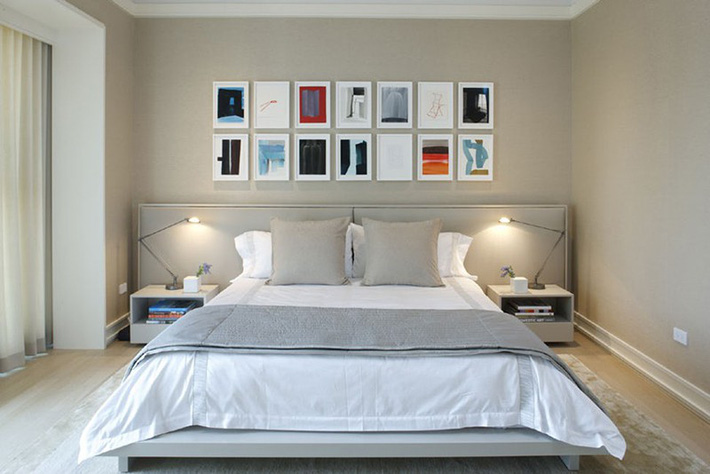 Mách bạn vài cách vừa rẻ vừa dễ để trang trí đầu giường thu hút hơn trong tức thì - Ảnh 11.
