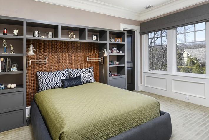 Mách bạn vài cách vừa rẻ vừa dễ để trang trí đầu giường thu hút hơn trong tức thì - Ảnh 14.