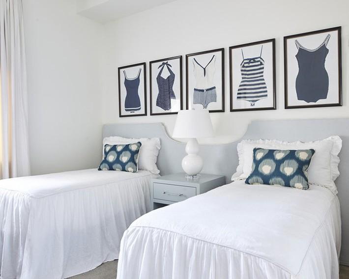 Mách bạn vài cách vừa rẻ vừa dễ để trang trí đầu giường thu hút hơn trong tức thì - Ảnh 21.