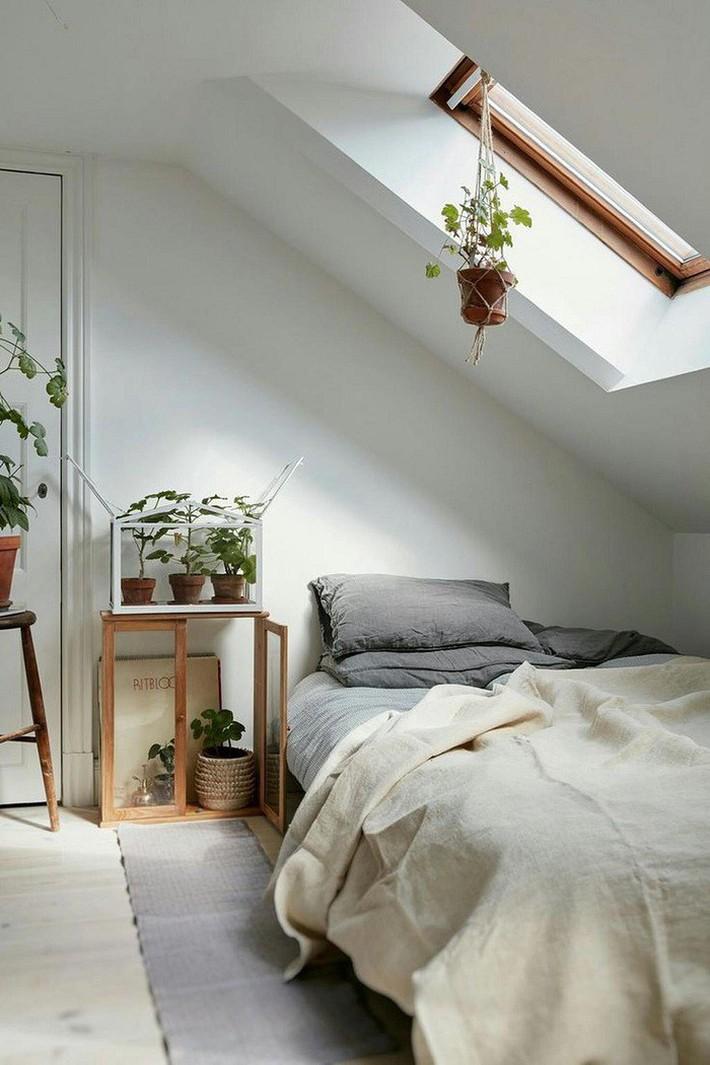 2 cách thiết kế thông minh và hữu ích cho không gian phòng ngủ gác mái mà bạn cần phải biết  - Ảnh 15.