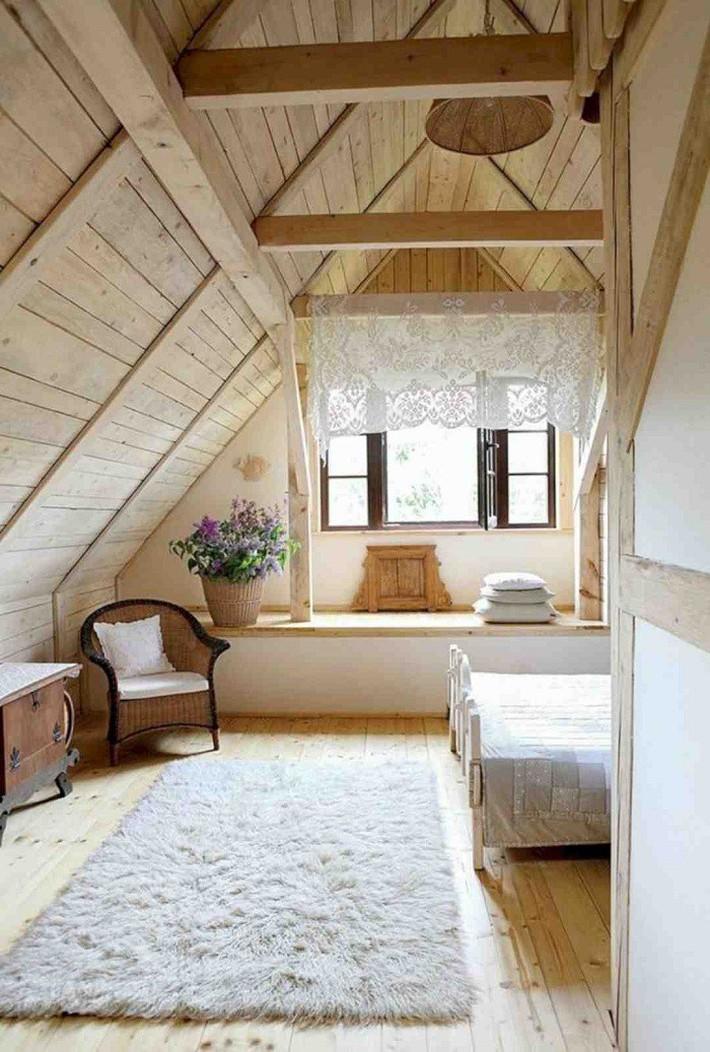 2 cách thiết kế thông minh và hữu ích cho không gian phòng ngủ gác mái mà bạn cần phải biết  - Ảnh 3.