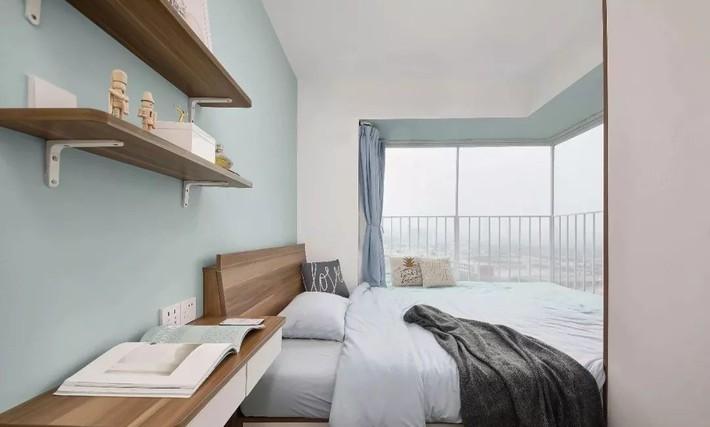 Cặp vợ chồng trẻ cải tạo căn hộ 54m² từ chật hẹp thành không gian vô cùng rộng rãi nhờ khéo thiết kế khu vực lưu trữ - Ảnh 13.