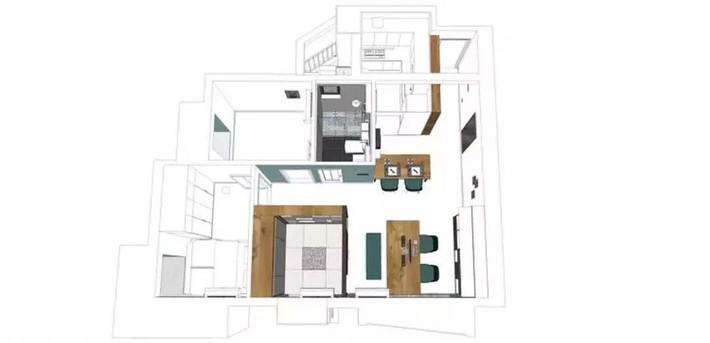 Cặp vợ chồng trẻ cải tạo căn hộ 54m² từ chật hẹp thành không gian vô cùng rộng rãi nhờ khéo thiết kế khu vực lưu trữ - Ảnh 1.