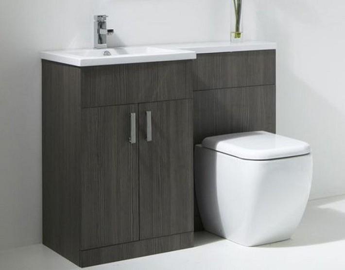 Gợi ý các thiết kế bồn cầu ăn gian diện tích cho những người sở hữu một căn phòng tắm chật hẹp - Ảnh 2.