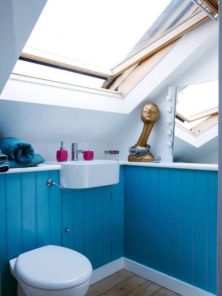 Gợi ý các thiết kế bồn cầu ăn gian diện tích cho những người sở hữu một căn phòng tắm chật hẹp - Ảnh 6.