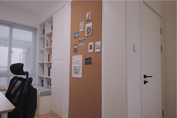 Căn hộ 70m² trên tầng 33 đẹp hút hồn với thiết kế gạch sàn bếp hình lục giác độc đáo - Ảnh 9.
