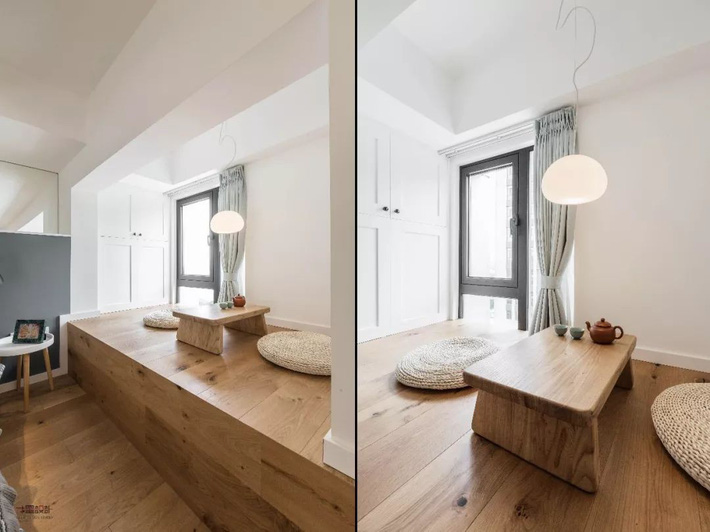Choáng toàn tập với ngôi nhà sở hữu phòng khách chìm và không gian lưu trữ rộng lớn ẩn dưới mặt sàn bằng gỗ - Ảnh 10.