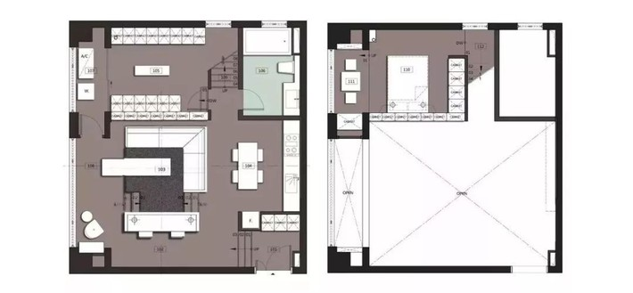 Choáng toàn tập với ngôi nhà sở hữu phòng khách chìm và không gian lưu trữ rộng lớn ẩn dưới mặt sàn bằng gỗ - Ảnh 14.