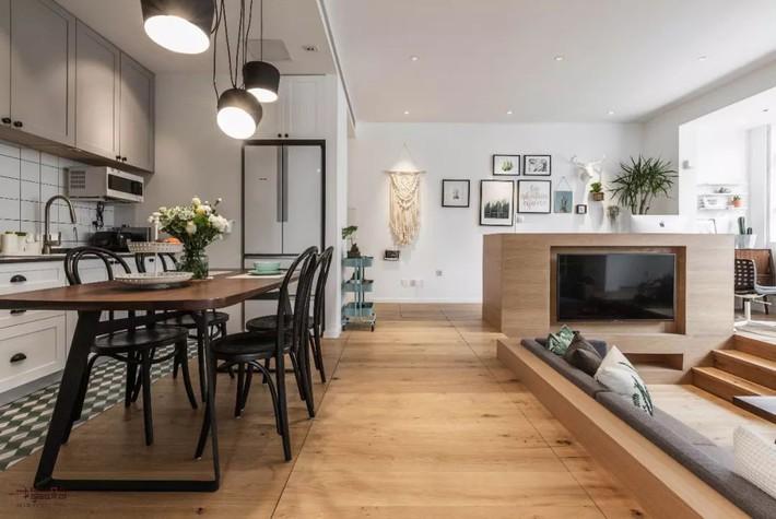 Choáng toàn tập với ngôi nhà sở hữu phòng khách chìm và không gian lưu trữ rộng lớn ẩn dưới mặt sàn bằng gỗ - Ảnh 7.