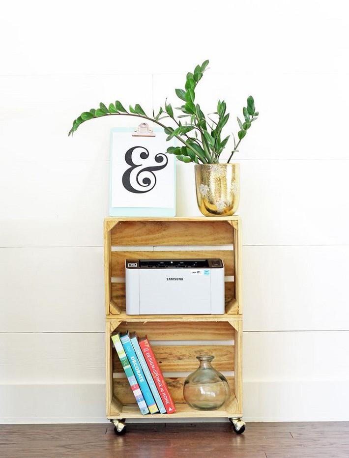 12 thiết kế kệ lưu trữ đơn giản giúp bạn giảm stress vì đống đồ lúc nào cũng bừa bộn  - Ảnh 8.