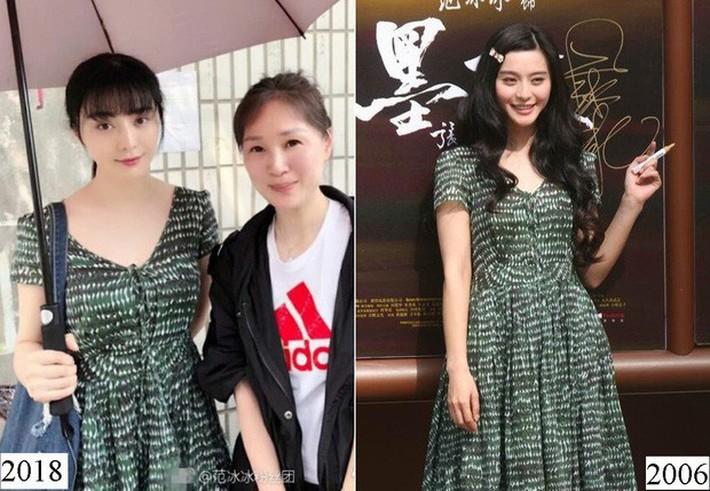 Nộp thuế nên hết tiền, nữ hoàng Phạm Băng Băng hết mặc đầm Taobao 300k lại diện áo cũ từ 3 năm trước? - Ảnh 6.