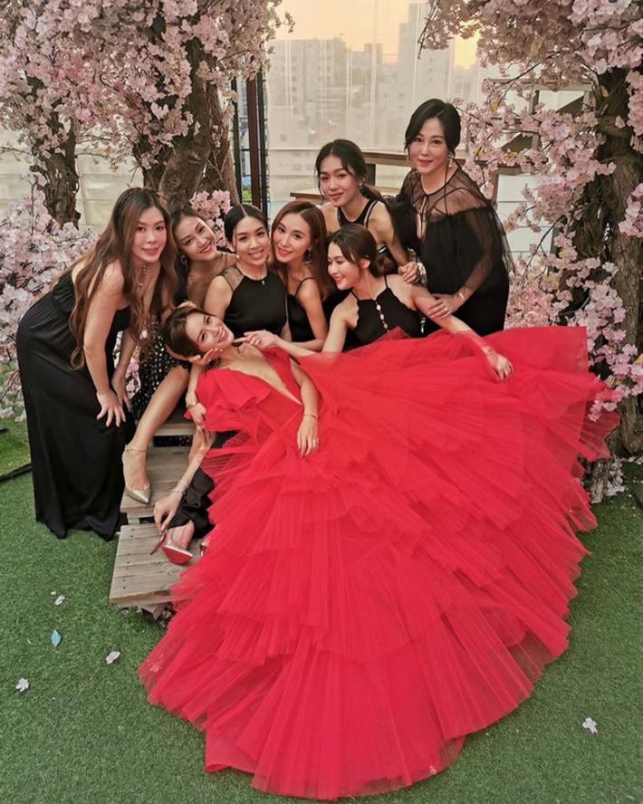 Váy cưới của Văn Vịnh San trong hôn lễ với chồng đại gia: chiếc lộng lẫy xa hoa, chiếc siêu to khổng lồ với mức giá trên trời gây choáng - Ảnh 8.