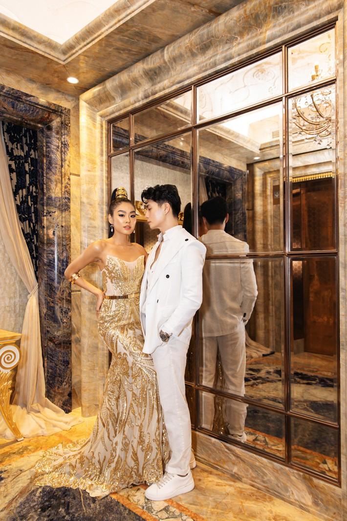 Ngập sắc vàng kim cả một thảm đỏ: Lan Ngọc đài các đúng kiểu Crazy Rich Asian, Nhã Phương long lanh tựa nữ thần - Ảnh 13.