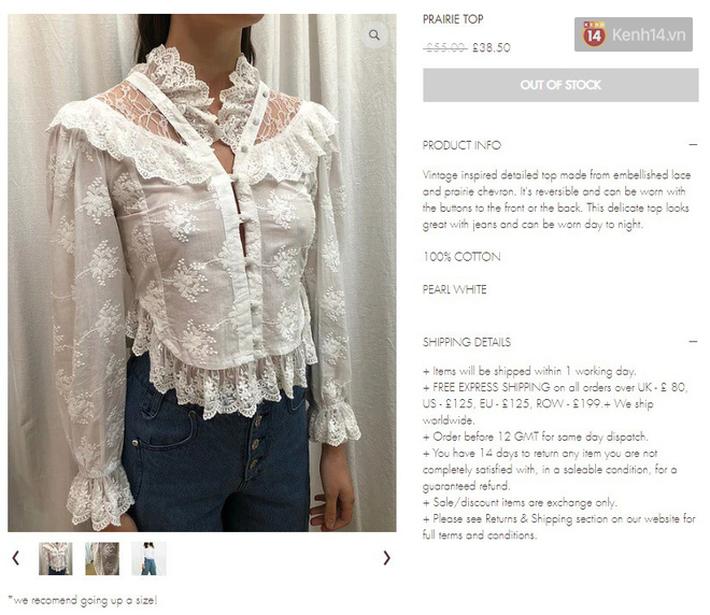 """Mặc đẹp hơn cả mẫu trên web hãng, Lisa lại khiến mẫu áo """"sến súa"""" này sold out chỉ sau 1 tiếng đồng hồ - Ảnh 3."""