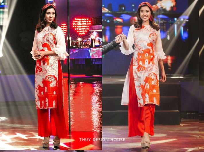 Giữa nghi án áo dài bị copy, NTK Thủy Nguyễn khẳng định: Sản phẩm kia giống thiết kế gốc của tôi đến hơn 90% - Ảnh 4.