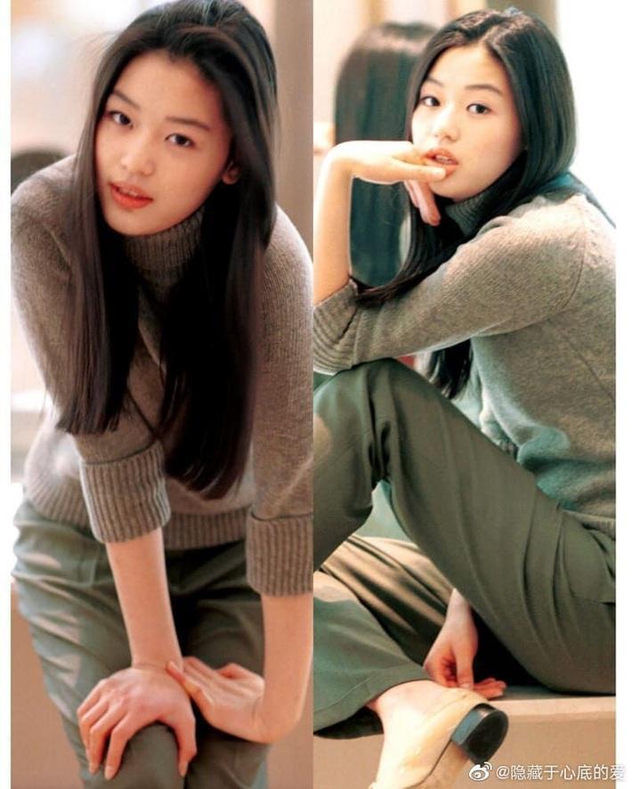 Ảnh 20 năm trước của mợ chảnh Jeon Ji Hyun bỗng gây sốt vì style vẫn chất và hợp trend, makeup tí tẹo mà thần thái ngút ngàn - Ảnh 4.
