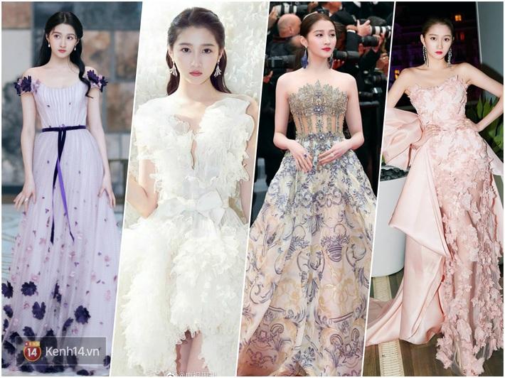 Nữ hoàng thảm đỏ Cbiz 2019: Phạm Gia sa sút phong độ, Triệu Vy ngày một đẳng cấp, Angela Baby và Quan Hiểu Đồng đua đồ Haute Couture - Ảnh 13.