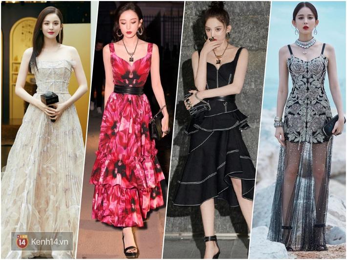 Nữ hoàng thảm đỏ Cbiz 2019: Phạm Gia sa sút phong độ, Triệu Vy ngày một đẳng cấp, Angela Baby và Quan Hiểu Đồng đua đồ Haute Couture - Ảnh 11.