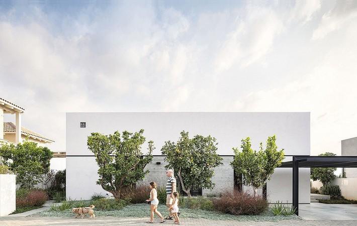 Ngắm ngôi nhà có nét thiết kế cởi mở và hiện đại nằm giữa cảnh quan đầy sự đối lập đến không tưởng - Ảnh 10.