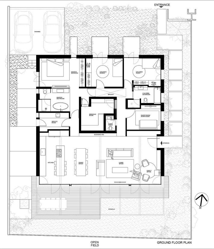 Ngắm ngôi nhà có nét thiết kế cởi mở và hiện đại nằm giữa cảnh quan đầy sự đối lập đến không tưởng - Ảnh 12.