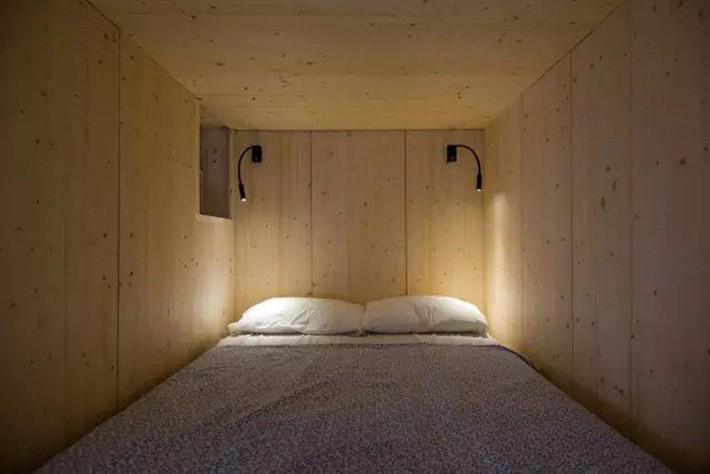 Căn hộ chỉ 35m² nhưng đẹp nổi bật và ấn tượng với bồn tắm rộng rãi, sang chảnh của vợ chồng trẻ - Ảnh 5.