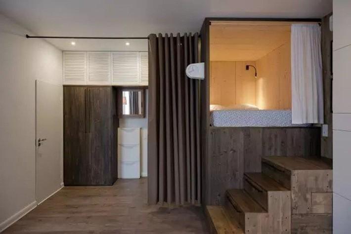 Căn hộ chỉ 35m² nhưng đẹp nổi bật và ấn tượng với bồn tắm rộng rãi, sang chảnh của vợ chồng trẻ - Ảnh 2.