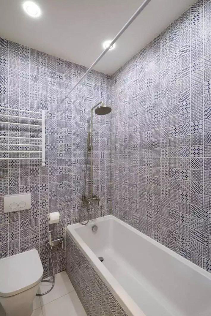 Căn hộ chỉ 35m² nhưng đẹp nổi bật và ấn tượng với bồn tắm rộng rãi, sang chảnh của vợ chồng trẻ - Ảnh 14.