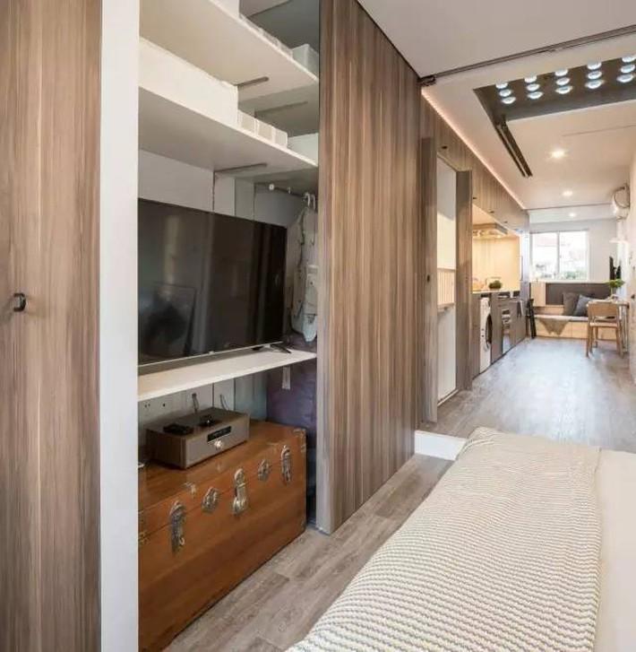 Vợ chồng trẻ cải tạo nhà tập thể cũ 37m² từ ai đến mua cũng chê thành tổ ấm sang chảnh vạn người mê - Ảnh 8.