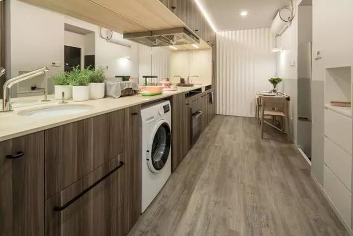 Vợ chồng trẻ cải tạo nhà tập thể cũ 37m² từ ai đến mua cũng chê thành tổ ấm sang chảnh vạn người mê - Ảnh 1.
